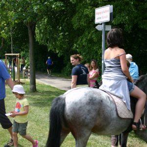Ponyreiten mit Jochen 2011