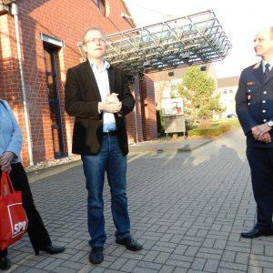 Tillmann, Ott und Kommandant Martens