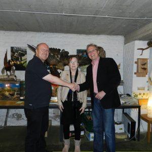 Frank Küchenhoff, Monika Möller und Jochen Ott