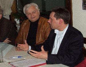 Bürgermeister und Sitzungsleiter: Willi Stadoll referierte im SPD-Ortsverein Wahn, Wahnheide, Lind, Libur (2. v. lks.)
