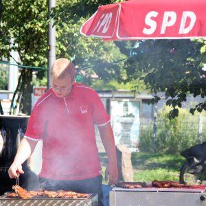 Poller SPD grillt und räuchert selbst