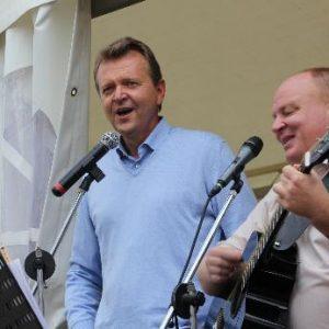 Martin Dörmann und Ulf Florian singen