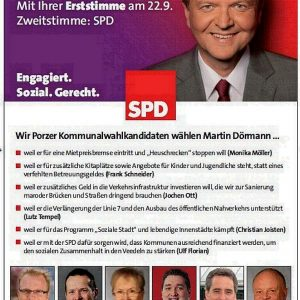 Anzeige Martin Dörmann