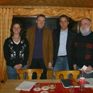 Marion Tillmann, Dr. Ralf Heinen, Christian Joisten und Max Dieter Hingst