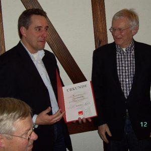 Jubilar Dr. Gerd Schönfeld