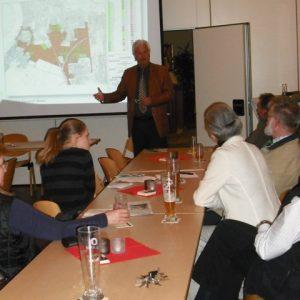 Willi Stadoll in der Diskussion
