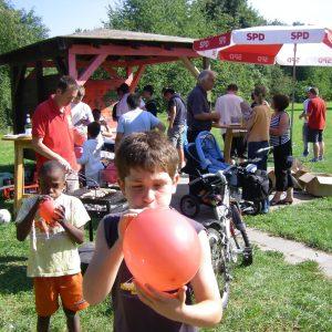 Grillen an der Jugendhütte Christrosenweg