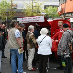 Kaffee-Mobil mit Jochen Ott