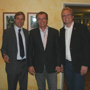 Michael Frenzel, Martin Waldendorf und Jochen ott