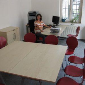 Marion Tillmann im neuen Bürgerbüro